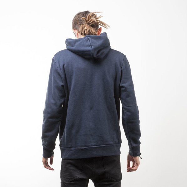 Carhartt WIP bluza Hooded Painted Script Sweat navy / quince