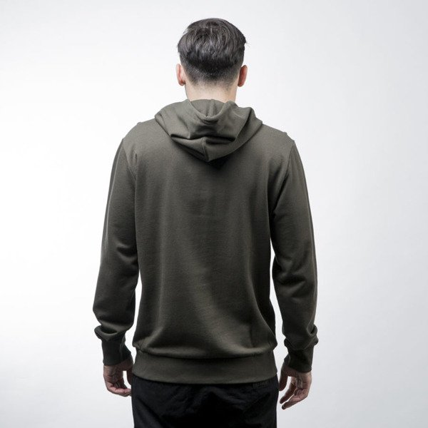 Carhartt WIP bluza sweatshirt Hooded Bold Type cypress / black