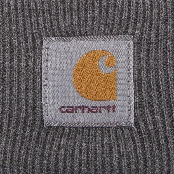 Carhartt WIP czapka zimowa Bobble Watch dark grey heather