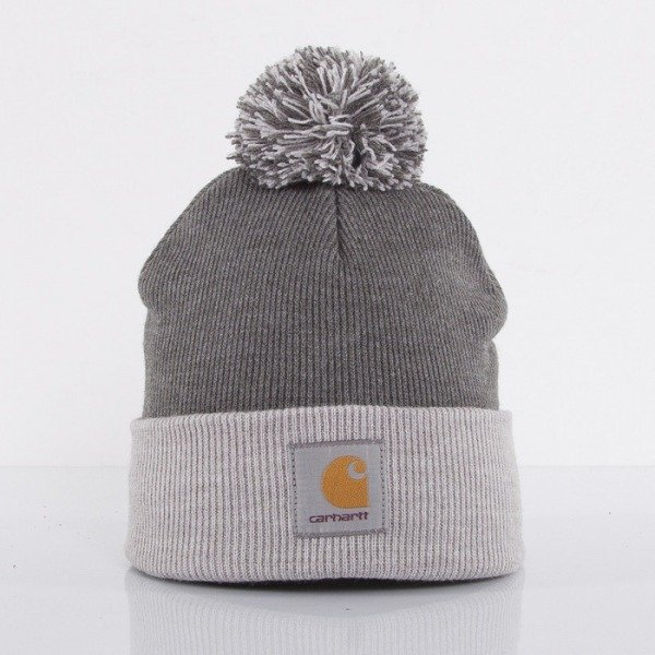 Carhartt WIP czapka zimowa Britt dark grey heather / grey heather
