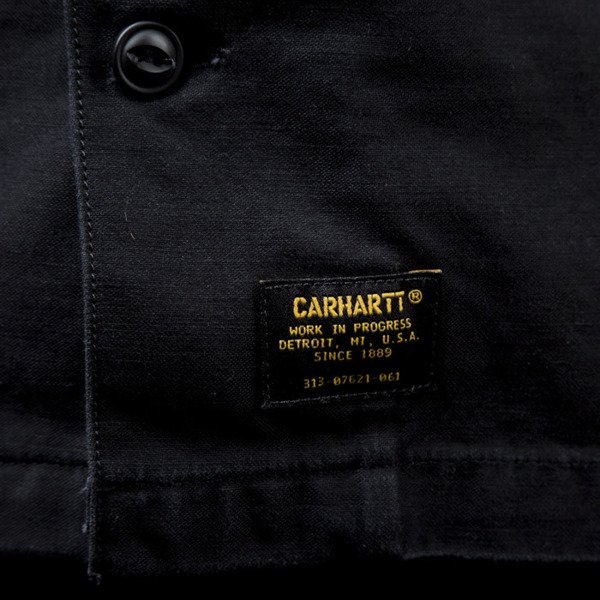 Carhartt WIP koszula L / S Arrow Shirt black / white