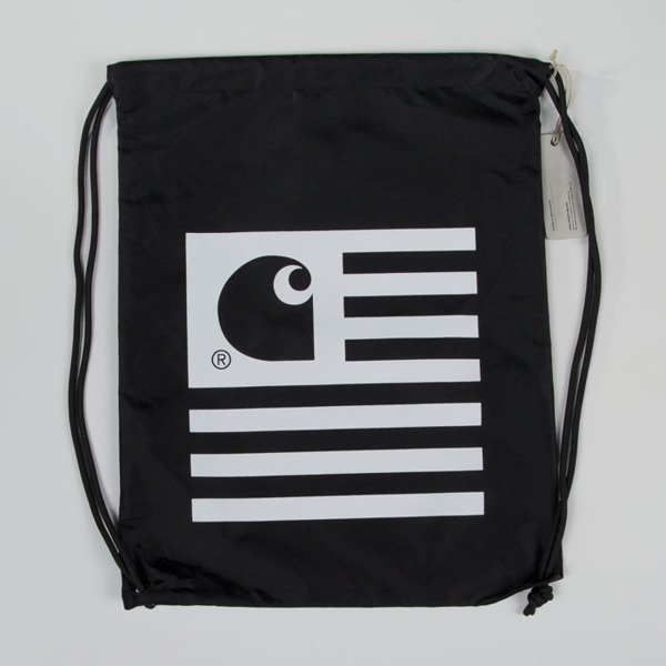 Carhartt WIP worek na plecy State Bag black / white