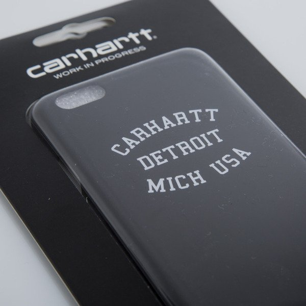 Carhartt etui Detroit iPhone Hardcase black / white