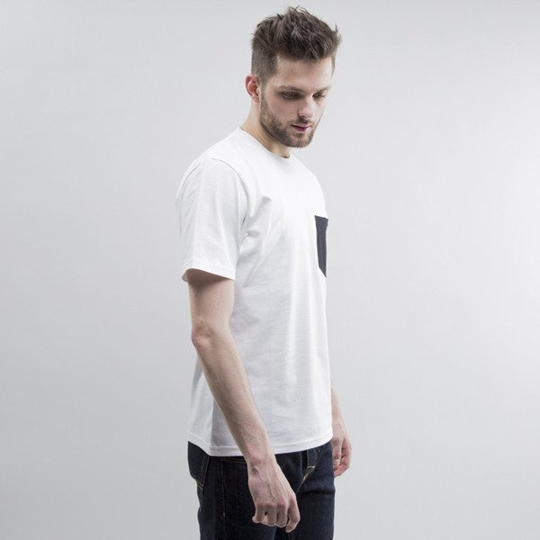 Carhartt koszulka Contrast Pocket white / black