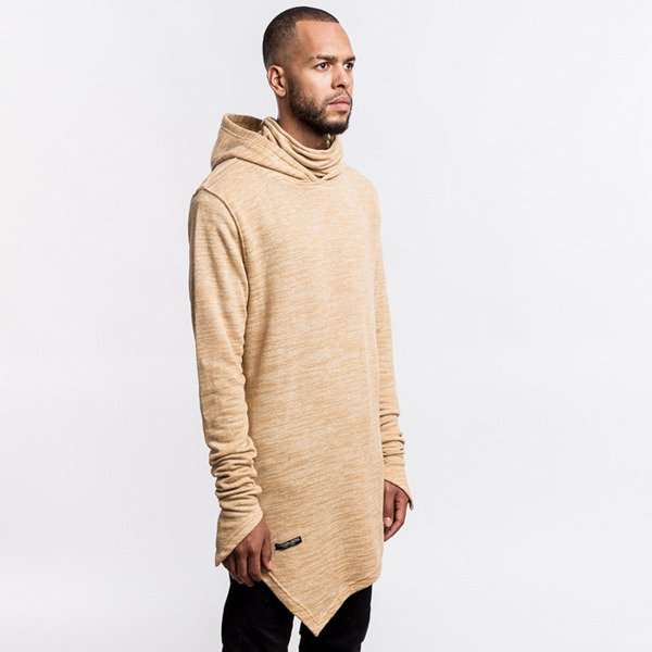 Cayler & Sons BLACK LABEL bluza sweatshirt Severoz Hoody sand / white BL-CAY-AW16-AP-11-02