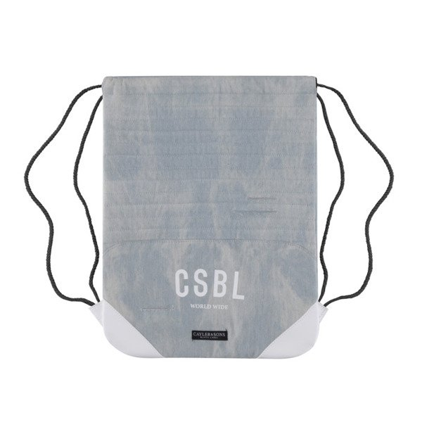 Cayler & Sons BLACK LABEL worek Moto Gymbag light blue denim / white BL-CAY-AW16-GB-01