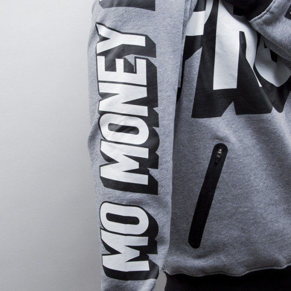 Cayler & Sons Black Label bluza Mo Money Hoody grey heather / white / black (BL-CAY-SS15-AP-05-01)