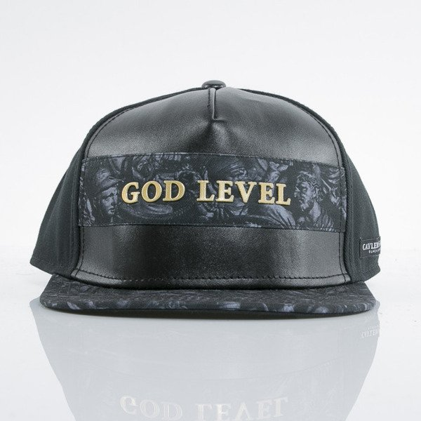 Cayler & Sons Black Label czapka snapback God Level black / gold (BL-CAY-AW15-03-OS)