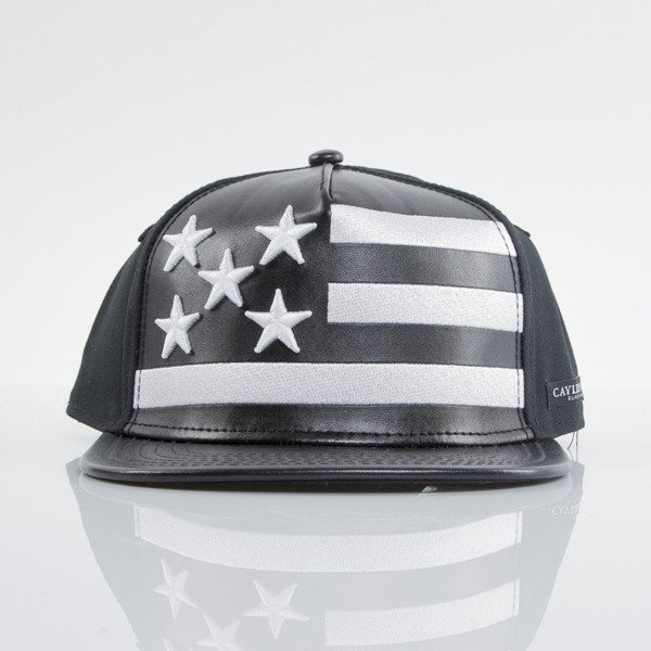 Cayler & Sons Black Label czapka snapback Super Stars black / white(BL-CAY-AW15-13-OS)