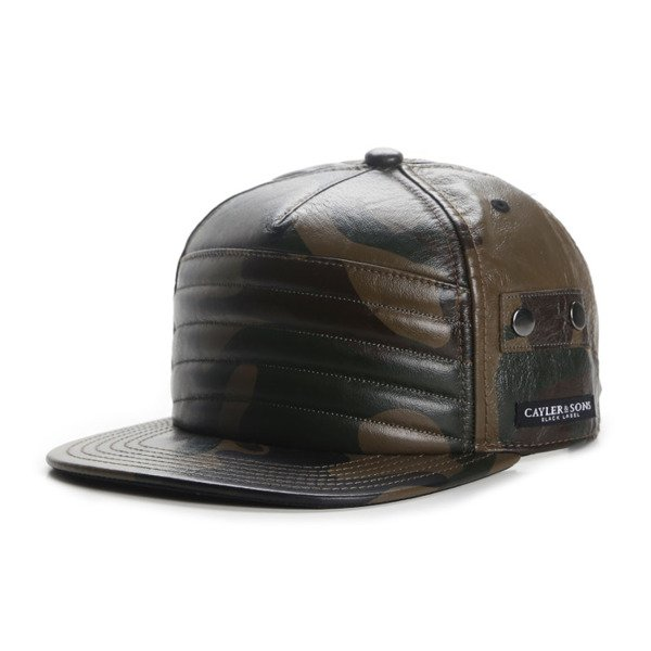 Cayler & Sons Black Label snapback czapka Moto Cap woodland / white BL-CAY-AW16-08-12