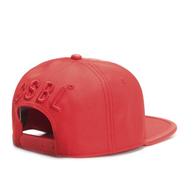 Cayler & Sons Black Label snapback czapka Pyramid Cap red / red snake (BL-CAY-SS16-03)