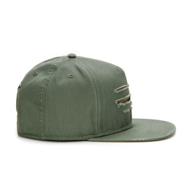 Cayler & Sons Black Label snapback czapka Ripped Cap olive / woodland BL-CAY-AW16-01