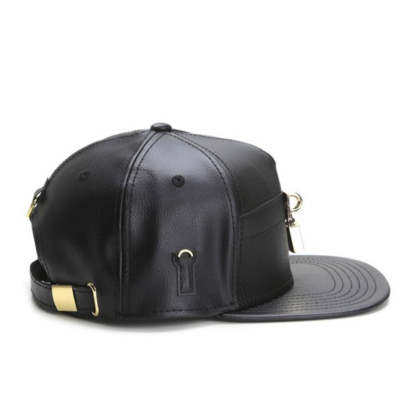 Cayler & Sons Black Label strapback czapka Lockdown Cap black / gold (BL-CAY-SS16-11-01)