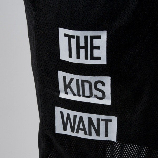 Cayler & Sons Black Label szorty Kids Want Mesh black / white (BL-CAY-SS15-AP-26-01)