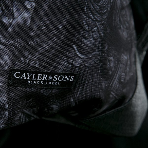 Cayler & Sons Black Label worek God Level black / gold (BL-CAY-AW15-GB-02-OS)