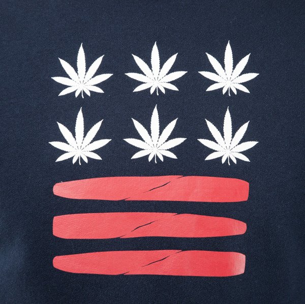 Cayler & Sons Budz n Bluntz Crewneck navy / red / white (CAY-SS15-AP-13-01)