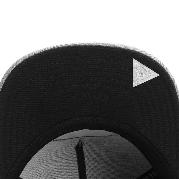 Cayler & Sons Copper Label snapback czapka Businees black / grey / white (CL-CAY-SS16-04)