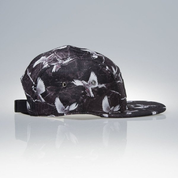Cayler & Sons Gold Label czapka Savior  5panel Cap  black / marble / white (WL-CAY-SS16-31)