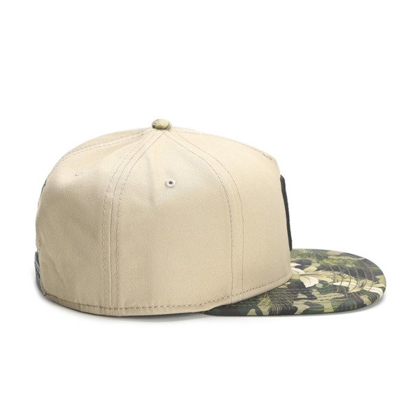 Cayler & Sons Gold Label snapback Cee Jungle Massive Cap sand / woodland / olive (GLD-CAY-SS16-11)