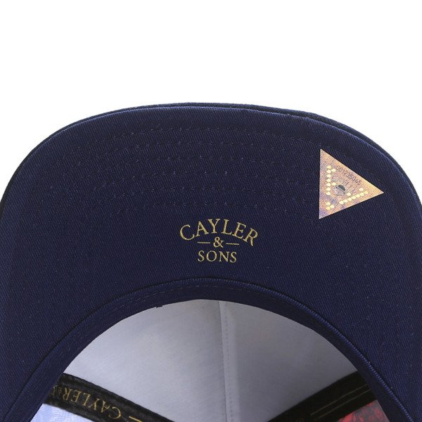 Cayler & Sons Gold Label snapback czapka One Night Cap navy / red / gold (GLD-CAY-SS16-02)