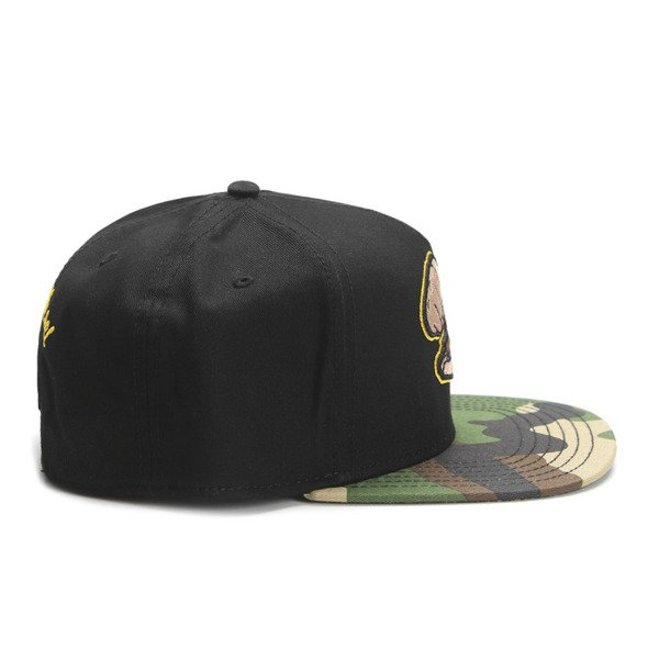 Cayler & Sons Green Label snapback czapka Sour Diesel Cap woodland / black / mc (GL-CAY-SS16-12)