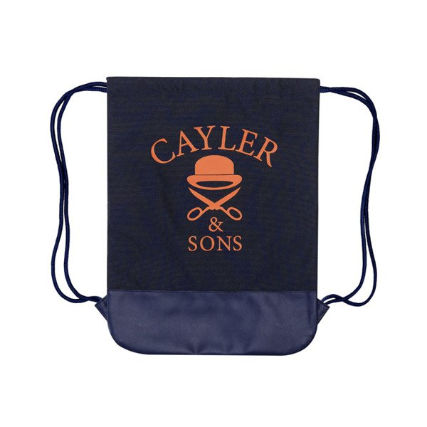 Cayler & Sons Green Label worek Amsterdam Gymbag navy / mc / (GL-CAY-SS16-GB-04)