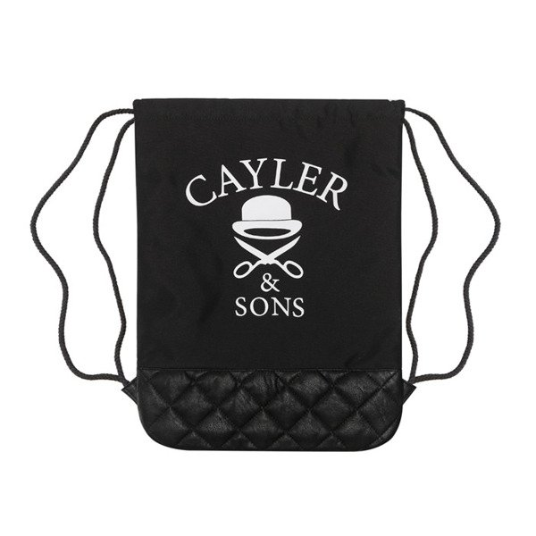 Cayler & Sons Green Label worek Cali Love Gymbag black / white (GL-CAY-SS16-GB-01)