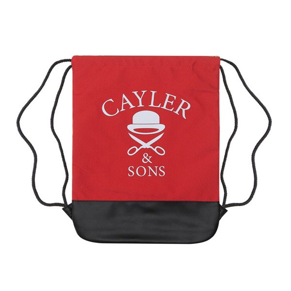 Cayler & Sons Green Label worek Good Moods Gymbag red / mc / black (GL-CAY-SS16-GB-02)
