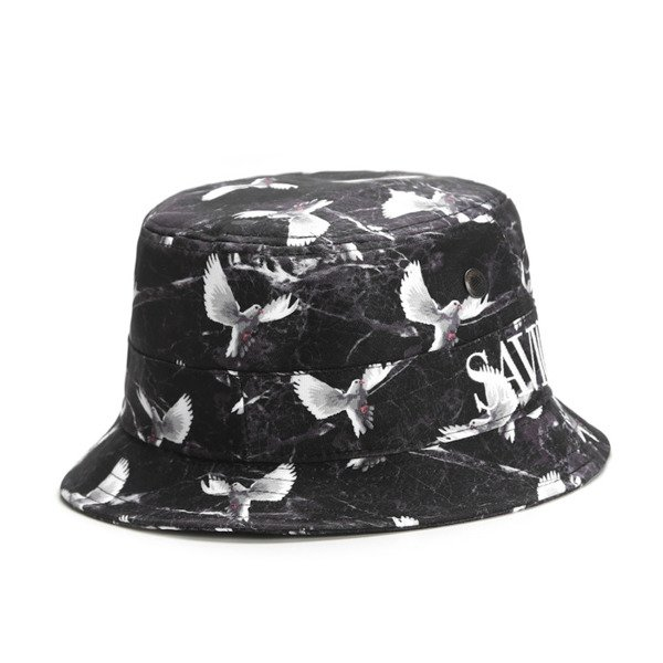 Cayler & Sons White Label bucket hat kapelusz Savior black / marble / white (WL-CAY-AW16-BH-04)