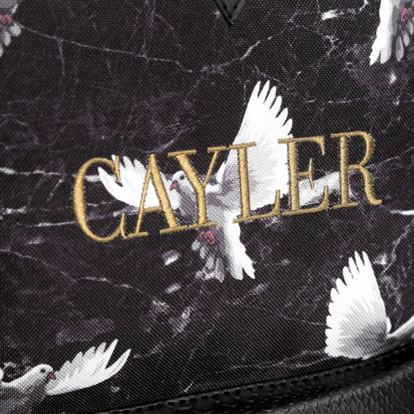 Cayler & Sons White Label plecak Doved Out Uptown Backpack black / grey / white (WL-CAY-SS16-BP-02)