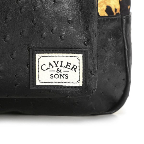 Cayler & Sons White Label plecak Paisace Uptown Backpack black / gold (WL-CAY-SS16-BP-01)