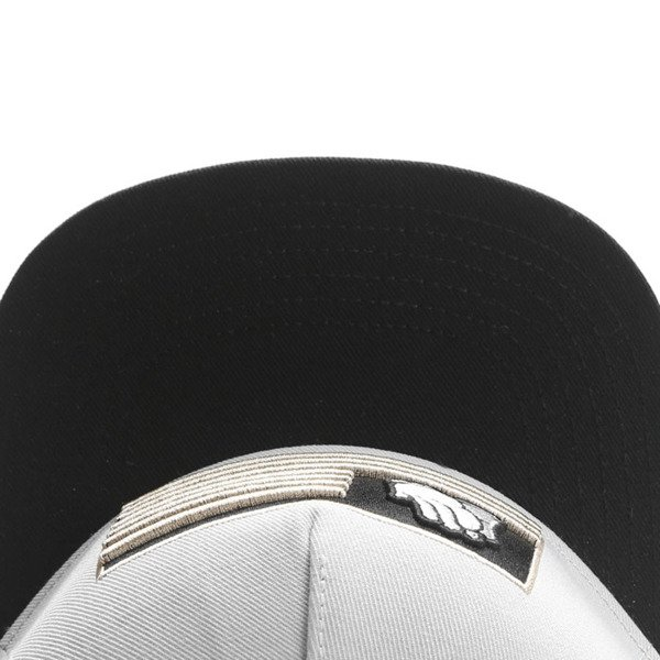 Cayler & Sons White Label snapback czapka Blessed Cap grey / black / gold WL-CAY-SU16-01