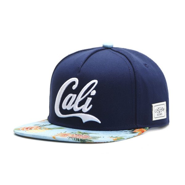 Cayler & Sons White Label snapback czapka Cali Love navy / white blue WL-CAY-SU16-23