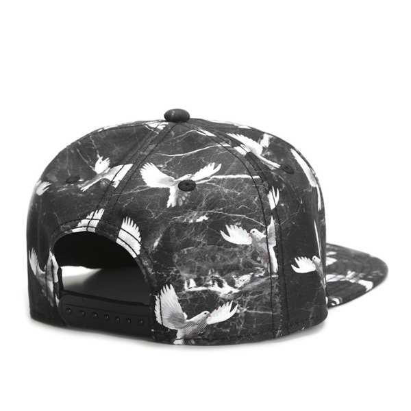Cayler & Sons White Label snapback czapka Doved Out Cap black / marble (WL-CAY-SS16-30)
