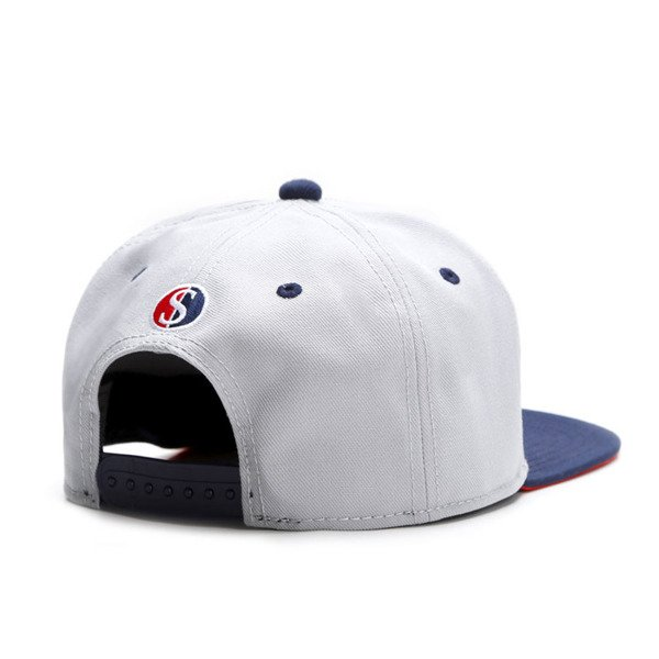 Cayler & Sons White Label snapback czapka Get It Cap grey / navy / red WL-CAY-SU16-06