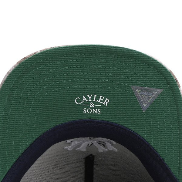 Cayler & Sons White Label snapback czapka Grime navy / desert flowers WL-CAY-SU16-13