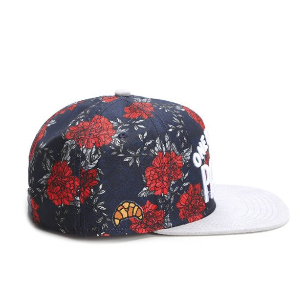 Cayler & Sons White Label snapback czapka One Night Cap navy / red / white (WL-CAY-SS16-27-01)