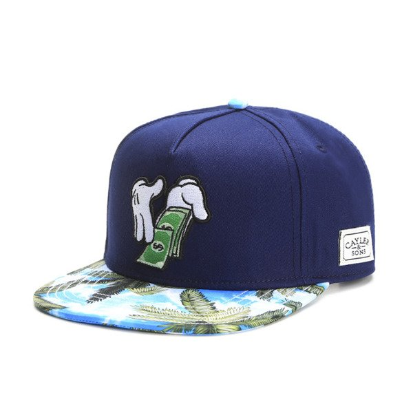 Cayler & Sons White Label snapback czapka Rainmaker Cap deep / navy (WL-CAY-SS16-20)