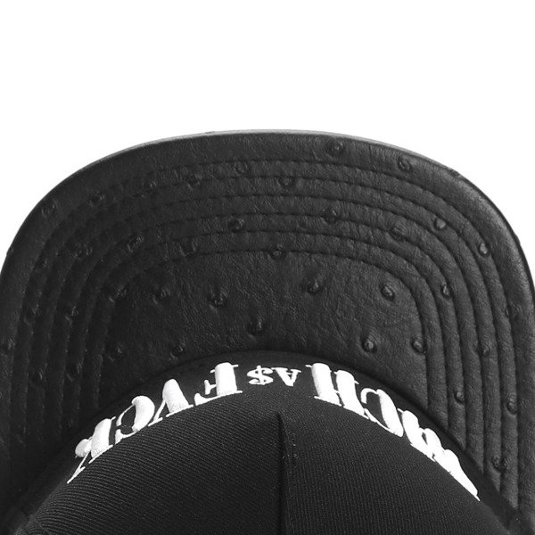 Cayler & Sons White Label snapback czapka Rich As Cap black / white (WL-CAY-SS16-19)