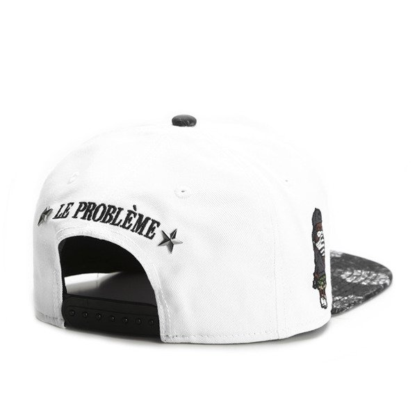 Cayler & Sons White Label snapback czapka Terrible Cap white / black (WL-CAY-SS16-24-02)