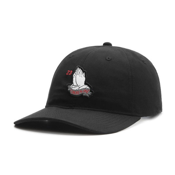 Cayler & Sons White Label strapback czapka Chosen One Curved Cap black / red WL-CAY-SU16-05