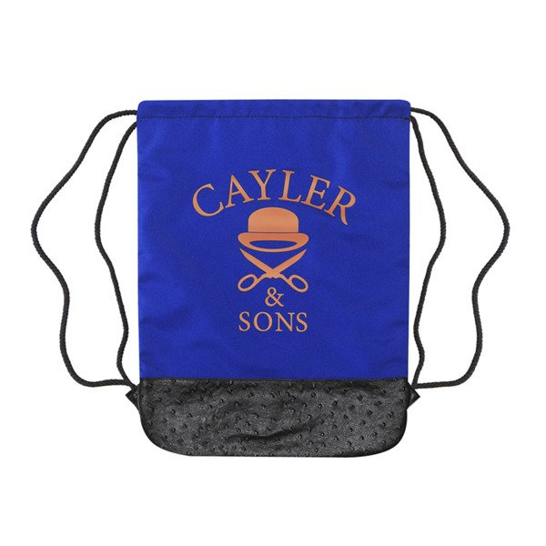 Cayler & Sons White Label worek Bigasso Gymbag blue / mc (WL-CAY-SS16-GB-12)