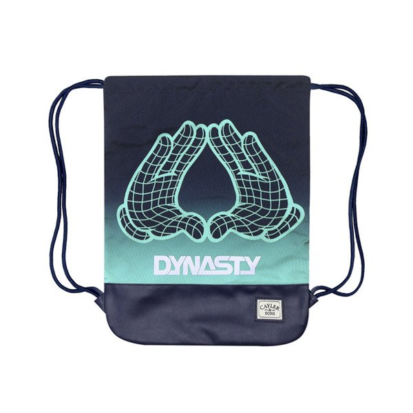 Cayler & Sons White Label worek Dynasty Gymbag navy / mint / white (WL-CAY-SS16-GB-15)
