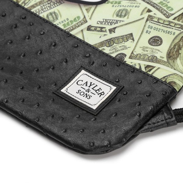 Cayler & Sons White Label worek Get Money Gymbag black / mc (WL-CAY-SS16-GB-07)