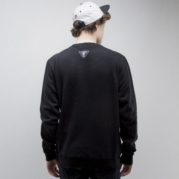 Cayler & Sons bluza Grindin Crewneck black / white (CAY-SS15-AP-15-01)