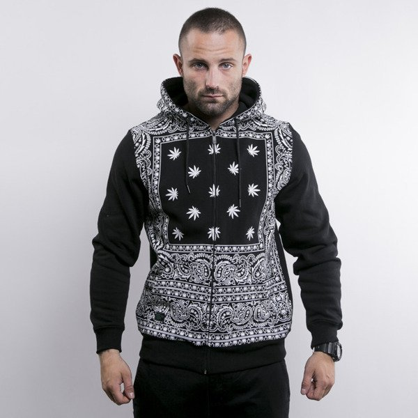Cayler & Sons bluza Hazely Zip Hoody black / white (GL-CAY-AW15-AP-06-01)