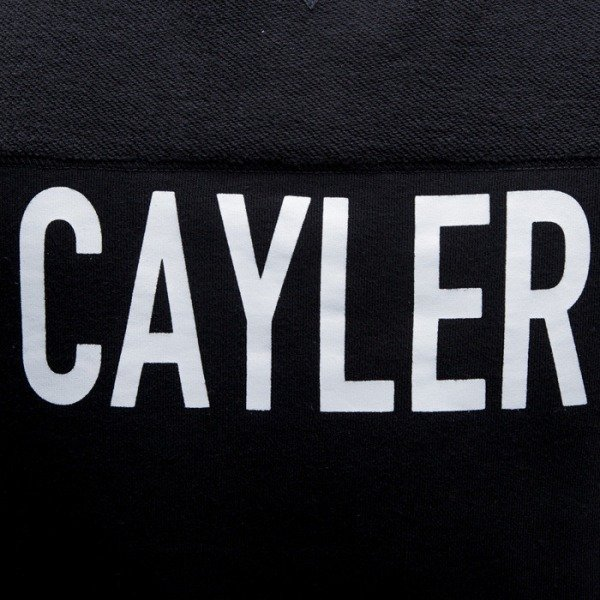 Cayler & Sons bluza Ninetyniene Crewneck black / white (CAY-SS15-AP-16-01)