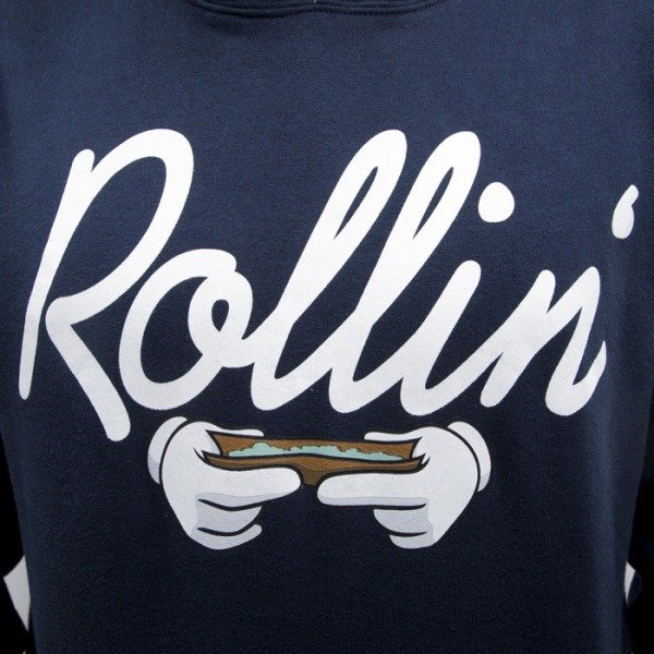 Cayler & Sons bluza Rollin Hoody navy / white (CAY-SS15-AP-07-01)