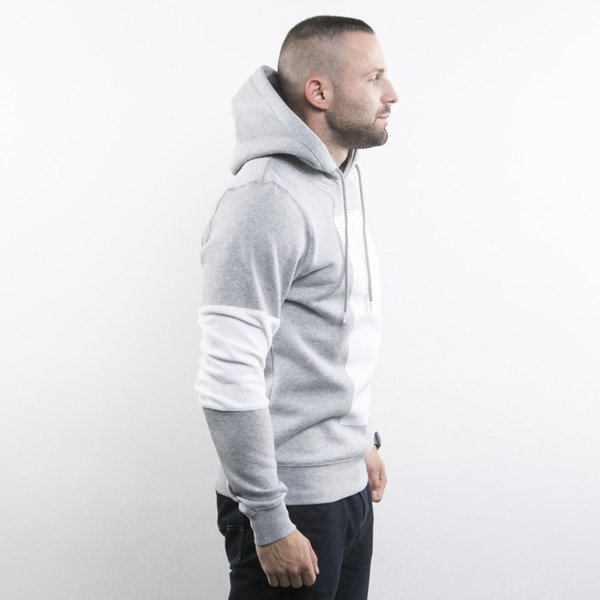 Cayler & Sons bluza Tres Slick Hoody grey heather / white BL-CAY-AW15-AP-07-02