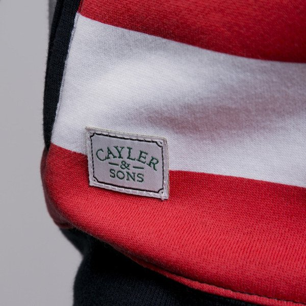 Cayler & Sons bluza United We Stand Hoody navy / white / red (GL-CAY-AW15-AP-08-02)